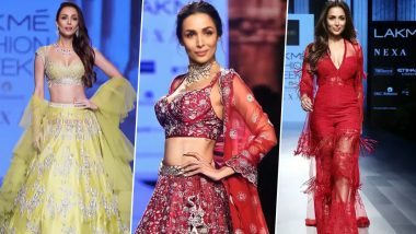 Malaika Arora Is Missing the Ramp Life, Shares a Video of Some of Her Stunning Looks From The Past (Watch Video)