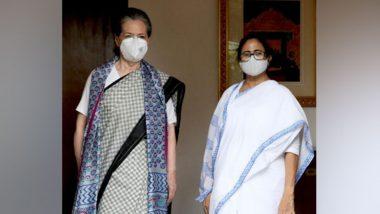 Mamata Banerjee Meets Sonia Gandhi, Rahul Gandhi With An Eye on Lok Sabha Elections 2024, Discusses Opposition Unity, Pegasus Row