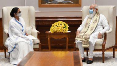 West Bengal CM Mamata Banerjee Meets PM Narendra Modi During Her Visit to New Delhi