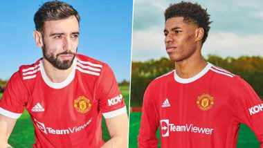 Manchester United Unveil New Home Kit For 2021-22 Footballing Season