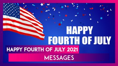 4th of July 2021 WhatsApp Messages, Greetings, HD Images and Quotes To Celebrate US Independence Day