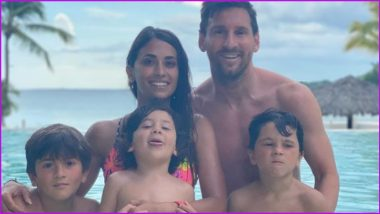 Lionel Messi, Wife Antonela Roccuzzo and Kids Enjoy Vacation in Miami (See Post)