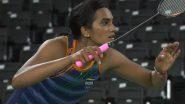 Watch PV Sindhu's Winning Point From Her Women's Singles Round of 16 Clash Against Denmark's Mia Blichfeldt in Tokyo Olympics 2020