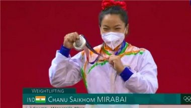 Mirabai Chanu Says She Dreamt of This 'For the Past Five Years' After Winning Historic Silver Medal in Tokyo Olympics 2020 49kg Weightlifting Event
