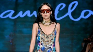 Chinese Superstar Model Amber Wang Featured Walking for Camilla with Love and Major Swimwear Brands At Miami Swim Week