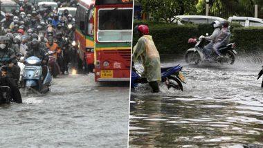 Mumbai Rains: Incessant Rainfall Causes Waterlogging, Traffic Snarls, Mithi River and Tulsi Lake Overflow (Videos and Pics)