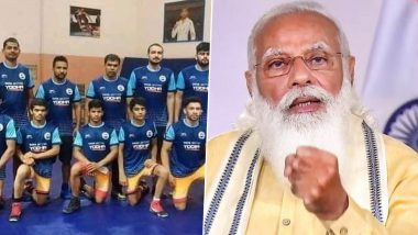 PM Narendra Modi Congratulates Indian Wrestling Team for Winning 13 Medals at World Cadet Championships 2021in Budapest