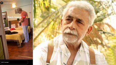 Naseeruddin Shah Discharged from Hospital, Vivaan Shah Confirms On Instagram