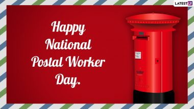 National Postal Worker Day 2021 Images & HD Wallpapers for Free Download Online: Wish Happy Postal Workers' Day With WhatsApp Messages and Facebook Greetings