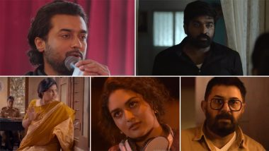 Navarasa Trailer: Suriya, Vijay Sethupathi, Parvathy And Others Come Together For A Wildly Intriguing Anthology Series (Watch Video)