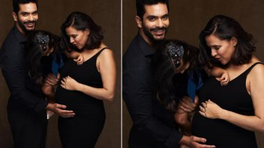 Neha Dhupia and Angad Bedi Announce Second Pregnancy; Actress Flaunts Her Baby Bump (View Pic)
