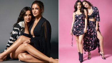 Sisters Neha Sharma and Aisha Sharma are Setting Insta on Fire; These Sexy Clicks of the Stylish Hotties are Proof! (View Pics)