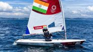 Nethra Kumanan at Tokyo Olympics 2020, Sailing Live Streaming Online: Know TV Channel & Telecast Details of Women's Laser Radial Race 1
