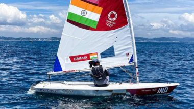 Nethra Kumanan at Tokyo Olympics 2020, Sailing Live Streaming Online: Know TV Channel & Telecast Details of Women's Laser Radial Race 3 and 4