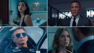 No Time To Die: Daniel Craig's Actioner To Release in Theatres in October 2021 (Watch Video)