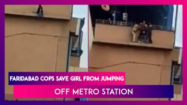 Girl Attempts Suicide At Faridabad Metro Station, Daring Constable Stops Attempt