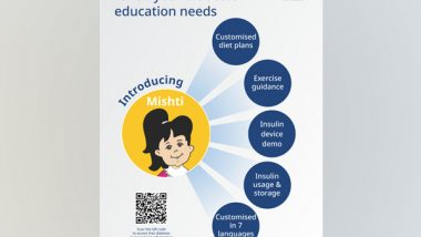 Business News | Novo Nordisk Education Foundation Introduces Mishti, a One Stop Solution for Diabetes Education