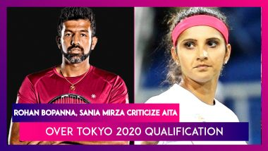 Tokyo 2020 Qualification Row: Rohan Bopanna, AITA Feud Over Accusations Of Misleading On Nominations