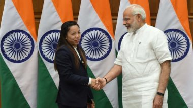 Tokyo Olympics 2020: PM Narendra Modi Speaks to Mirabai Chanu, Congratulates Her on Winning the Silver Medal in Weightlifting