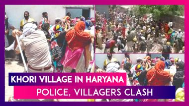 Khori Village In Haryana: Police, Villagers Clash As Demolition Looms for Hundreds of Houses