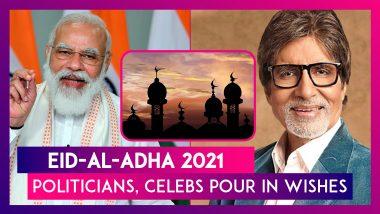 Eid-al-Adha 2021: PM Modi, Rahul Gandhi, Amitabh Bachchan, Madhuri Dixit & Many Others Pour In Wishes