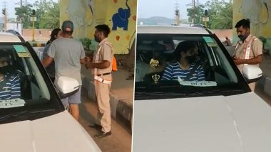Panchkula Home Guard Attempts Suicide After Being Punished For Stopping Car of Woman IDAS Officer; FIR Filed Against The Woman Officer After Video Goes Viral