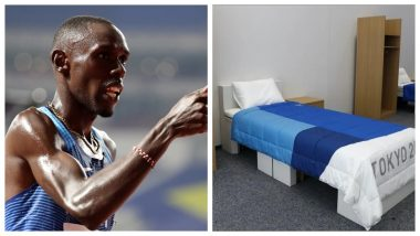 Tokyo Olympics 2020: Beds in Village Made Out of Cardboard, Paul Chelimo Claims It's Done to Avoid Intimacy