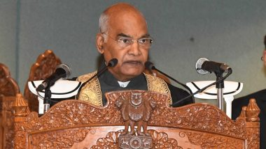 Climate Change is Most Critical Challenge Before Humanity, Says President Ram Nath Kovind at Kashmir University