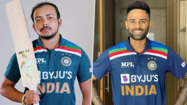 Prithvi Shaw, Suryakumar Yadav Named Injury Replacements for Indian Team in England