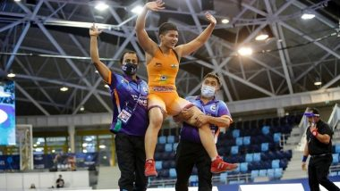 Anurag Thakur Lauds Indian Wrestlers for Clinching 5 Gold Medals at World Cadet Championships 2021 in Budapest, Hungary