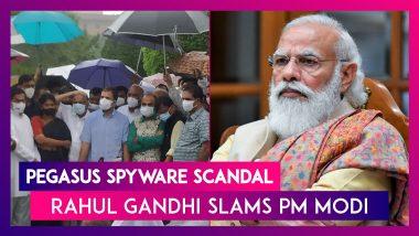 Pegasus Spyware Scandal: PM Modi 'Hit Soul Of India's Democracy' By Using Pegasus, Says Rahul Gandhi