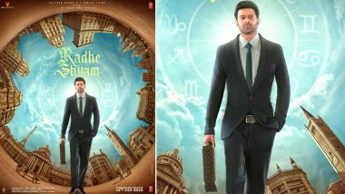 Radhe Shyam: Prabhas and Pooja Hegde's Film To Release in Theatres on Sankranti 2022; Makers Share a New Poster!
