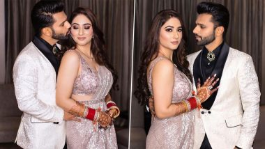 Rahul Vaidya Shares Hilarious Incident From His First Night With Wife Disha Parmar (Watch Video)