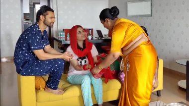 Newlyweds Rahul Vaidya and Disha Parmar Seek Blessings From the Kinnar Community (Watch Video)