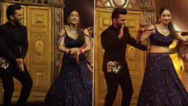 Rahul Vaidya-Disha Parmar Sangeet: Newlyweds Burn the Dance Floor With Their Sizzling Moves (Watch Video)
