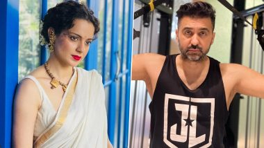 Kangana Ranaut Reacts to Raj Kundra's Arrest, Says She Will Expose the Corrupt Industry in Her Film Tiku Weds Sheru