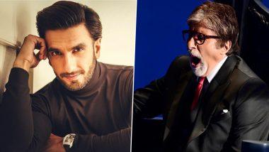 Ranveer Singh Drops GOAT Emoji on Amitabh Bachchan's Pic from Kaun Banega Crorepati 13 Sets