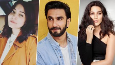 Ranveer Singh Turns 36! Anushka Sharma, Kriti Sanon and Others Extend Birthday Greetings For the Gully Boy Actor