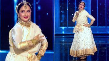 Rekha Grooves to Her Iconic Song 'Salaam-E-Ishq Meri Jaan' on Dance Deewane 3 (Watch Video)