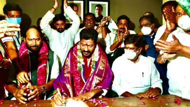 Revanth Reddy Takes Charge as Congress' President in Telangana