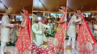 #TheDisHulWedding: Disha Parmar And Rahul Vaidya Exchange Rings, Check Out All The Videos From The Ceremony