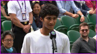 Indian-origin Samir Banerjee Lifts Wimbledon 2021 Boys Singles Title