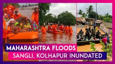 Maharashtra Floods: Sangli, Kolhapur Inundated, Pune-Bangalore Highway Impacted