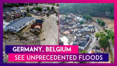 Germany, Belgium See Unprecedented Floods: At Least 68 Dead As Storms Lash Europe