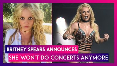 Britney Spears Announces She Won't Do Concerts Anymore, The Popular Pop Star Says, 'I Quit'