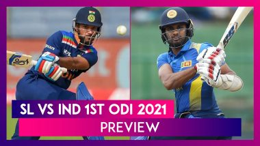 SL vs IND 1st ODI 2021 Preview & Playing XIs: New-Look India Look For Positive Start Against Hosts
