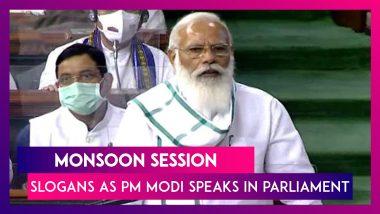 Monsoon session: Slogans As PM Modi Speaks In Parliament, Government Hits Back; IT minister Ashwini Vaishnaw on Pegasus report