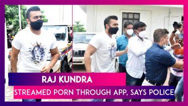 Raj Kundra, Shilpa Shetty's Husband Streamed Porn Through App, Says Police; All You Need To Know