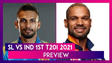 SL vs IND 1st T20I 2021 Preview & Playing XIs: Teams Look For Winning Start In Shorter Format