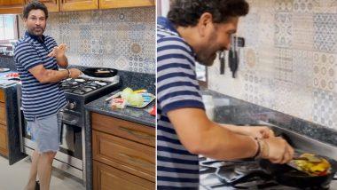 Sachin Tendulkar Turns Chef, Shares Video of Cooking Breakfast (Watch Video)
